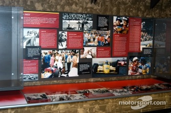 Al Unser, Sr. exhibit in Indy 500 room