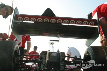 Wing work for Team Ganassi Racing