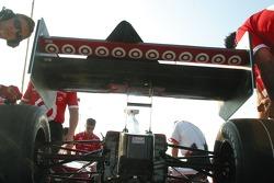 Wing work for Team Ganassi Racing