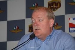 Jeff Horton, director of engineering for the Indy Racing League