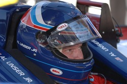 Al Unser Jr. takes refresher laps