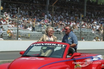 Mr. and Mrs. Johnny Rutherford