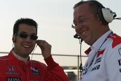 Sam Hornish Jr. and Tom German