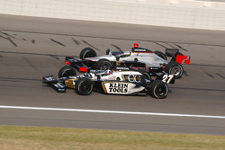 Dario Franchitti and Tomas Scheckter