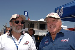 A.J. Foyt gives command to start the engines