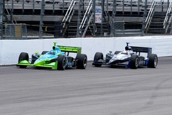 Jeff Simmons and Ed Carpenter at speed