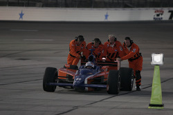 Buddy Lazier in trouble