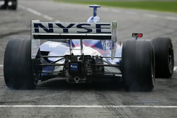 Marco Andretti takes off