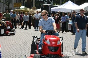 WIBC Toro lawn mower race event: Ed Carpenter