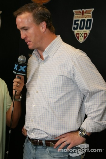 Indianapolis quarterback Peyton Manning