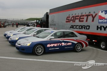 Honda Hybrid safety cars
