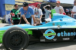 Fans in the Ethanol car