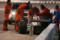 Safety crews arrive to assist Jon Herb