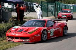 #58 Luxury Racing Ferrari F458 Italia: François Jakubowski, Anthony Beltoise, Jean-Denis Deletraz
