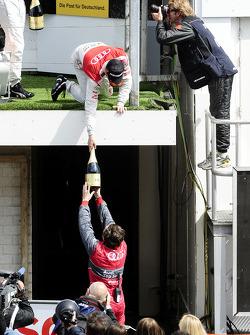 Podium: Martin Tomczyk, Audi Sport Team Phoenix Audi A4 DTM