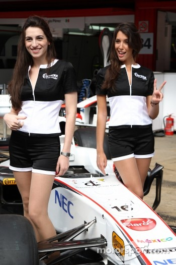 Sauber Cuerco girls