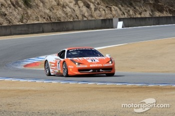 #77 Ferrari of Silicon Valley Ferrari 458 Challenge: Harry Cheung