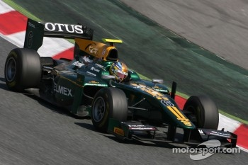 Esteban Gutierrez, Lotus ART