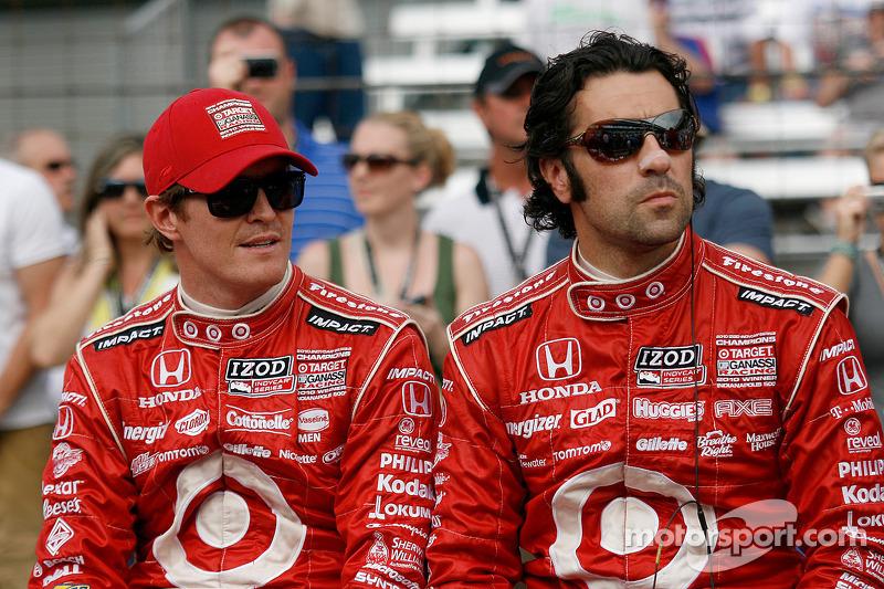 Scott Dixon, Dario Franchitti, Target Chip Ganassi Racing