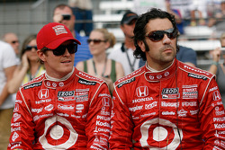 Scott Dixon, Dario Franchitti, Target Chip Ganassi Racing
