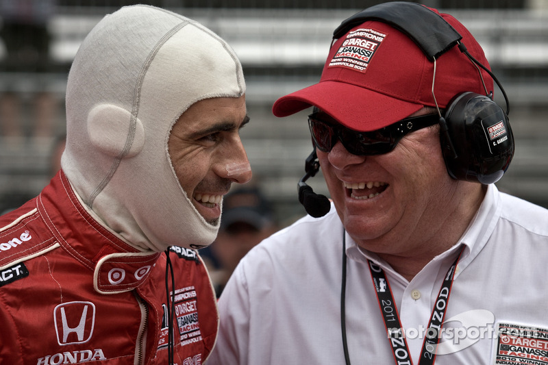 Dario Franchitti, Target Chip Ganassi Racing and Chip Ganassi