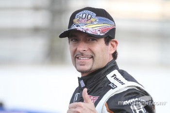 Front row photoshoot: pole winner Alex Tagliani, Sam Schmidt Motorsports
