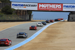 Ferrari Challenge race action