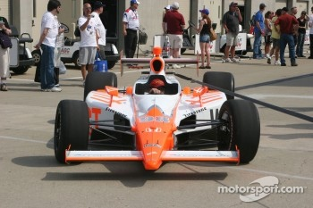 Bryan Herta Autosport with Curb/Agajarian car