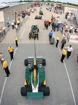 Car of Takuma Sato, KV Racing Technology-Lotus