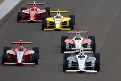 Josef Newgarden, Sam Schmidt Motorsports, Stefan Wilson, Andretti Motorsport, Esteban Guerrieri, Sam Schmidt Motorsports