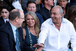 Prince Albert of Monaco and Philip Green, Amber Lounge Fashion