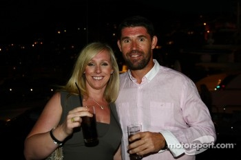 Irish Golf player Padraig Harrington with Caroline Harrington