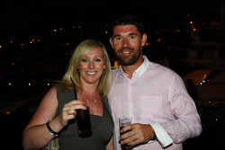 Irish Golf player Padraig Harrington with Caroline Harrington