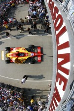Car of Ryan Hunter-Reay, A.J. Foyt Enterprises 