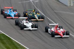 Vitor Meira, A.J. Foyt Enterprises, Buddy Rice, Panther Racing, Tony Kanaan, KV Racing Technology-Lotus, John Andretti, Richard Petty / Andretti Autosport