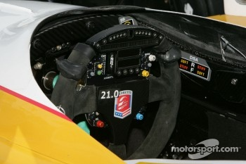 Andretti Autosport steering wheel