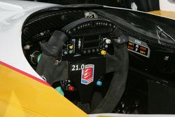 Andretti Autosport steering wheel