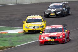 Renger van der Zande, Persson Motorsport, AMG Mercedes C-Klasse, David Coulthard, Mücke Motorsport, AMG Mercedes C-Klasse