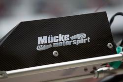 Mücke Motorsport pit sign