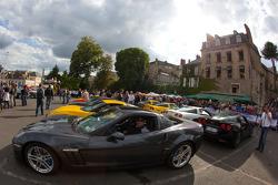Corvette cars