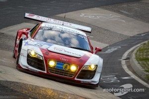 #15 Audi Sport Team Phoenix Audi R8LMS: Frank Stippler, Marc Hennerici, Christopher Haase, Markus Winkelhock