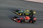 Marco Andretti, Andretti Autosport and Tony Kanaan, KV Racing Technology-Lotus