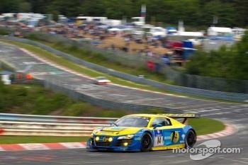 #14 Audi Sport Team Phoenix Audi R8LMS: Marc Basseng, Marcel Fässler, Frank Stippler