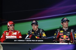 Post race press conference