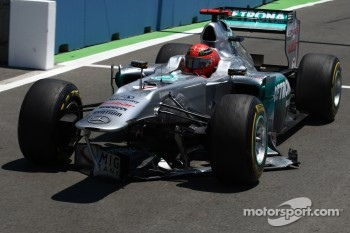 Plenty of problems for Michael Schumacher