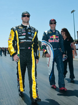 Paul Menard and Kasey Kahne