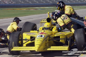 Sam Hornish pitstop