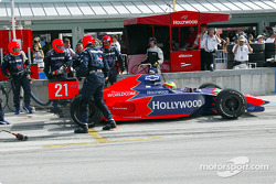 Pitstop for Felipe Giaffone