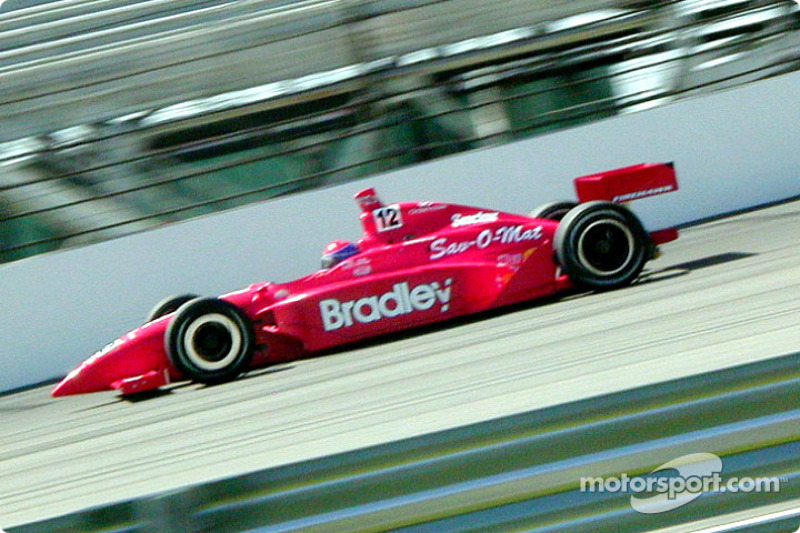 Buzz Calkins getting primary car up to speed to requalify
