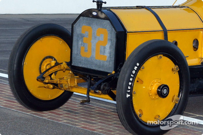 The opening ceremonies of the 86th running of the Indy 500 are begun by the #32 Marmon Wasp car from the 1911 Indy 500